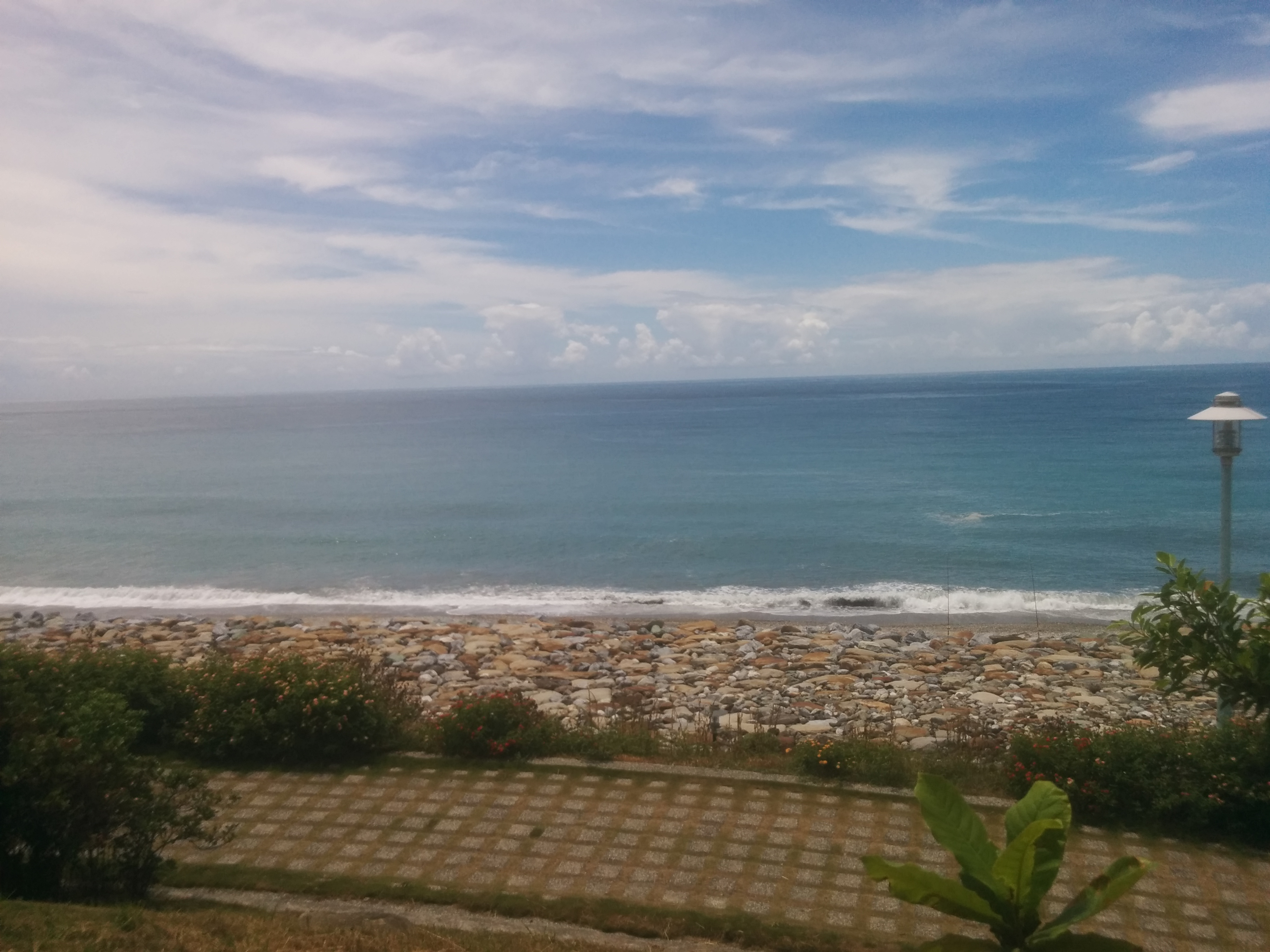 The Hualien beach
