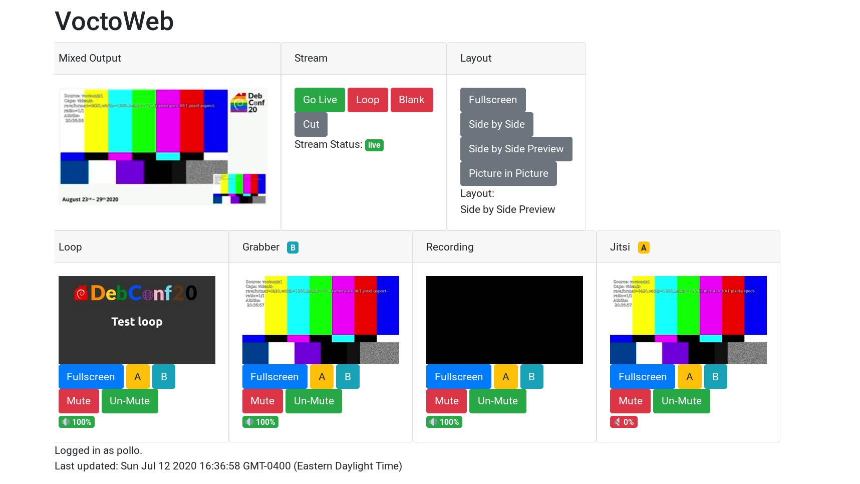 The new Python3 voctoweb