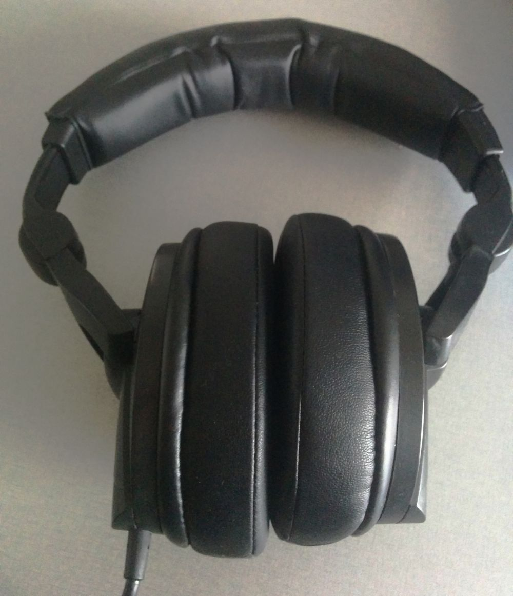 My old pair of Senheiser HD 280 Pro, with aftermarket sheepskin earpads